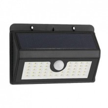 Уличный  светодиодный светильник на солнечной батарее EVER BRITE UTM на 30 диодов New (dm2130)