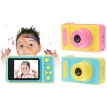 Детский уникальный цифровой фотоаппарат DVR Baby Camera V7 Pink 1,3 камера ударопрочный корпус New (DM2734)