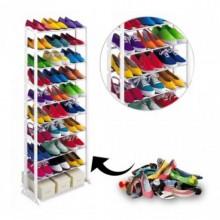 Полка органайзер стеллаж для обуви Amazing Shoe Rack на 30 пар New (dm2775)