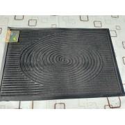 Коврик придверный  Dariana МХ 60x90 см прямоугольный, Чорный New (11220)