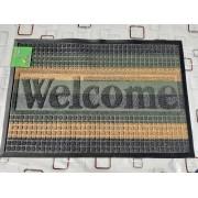 Коврик придверный Grass Dariana 60x90 см Ворс-пластик, прямоугольный, Зеленый комбинирований (11216)