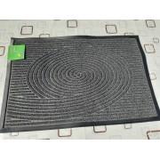 Коврик придверный Grass Dariana 60x90 см Ворс-пластик, Черный (11217)