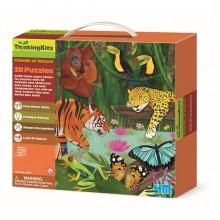 3D-пазл 4M 'Тропический лес' (AFK00-04678)