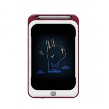 Графический планшет для рисования детский цветной D Jin Shang Lu красный New (dm2913)