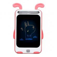 Графический планшет для рисования детский со стилусом цветной D Jin Shang Lu красный 622A (dm2914)