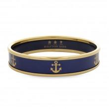 "Браслет Halcyon Days ""Gold Anchor Navy"" (WS0014)"