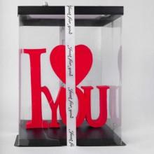 """Подарочный сувенир Bigshans """"I Love You"""" - 140158"""