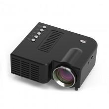 Проектор портативный мультимедийный мини UNIC 28 Black New (dm1861)